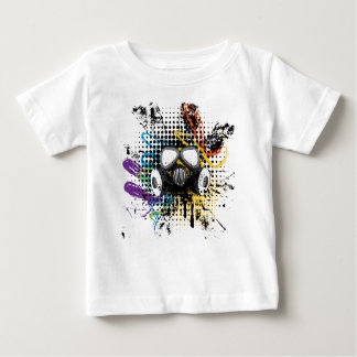 Grunge Gas Mask3 Baby T-Shirt