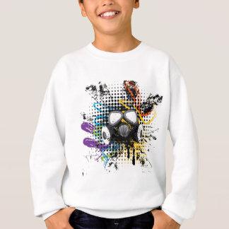 Grunge Gas Mask3 Sweatshirt