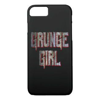 Grunge Girl iPhone Case