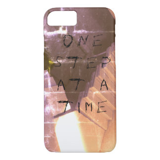 "Grunge/Gothic ""One step at a time"" Phone Case"