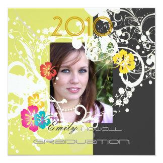 Grunge Graduation 2010/Heart Frame/butterflies Card