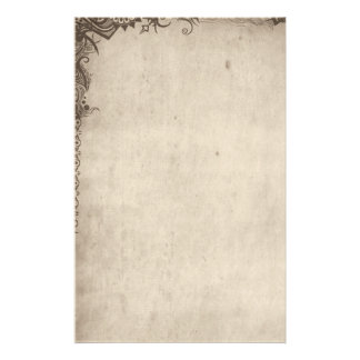 Grunge Graphic Stationery - unlined