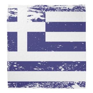 Grunge Greece Flag Bandanna