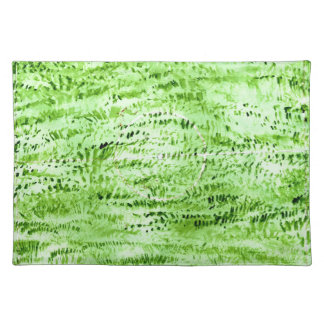 Grunge Green Background Placemat