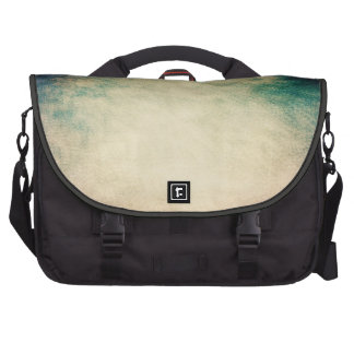 Grunge Green Vintage Texture CommuterBag Laptop Shoulder Bag