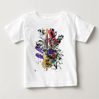 Grunge Guitar Illustration 3 Baby T-Shirt