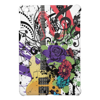 Grunge Guitar Illustration 3 Case For The iPad Mini