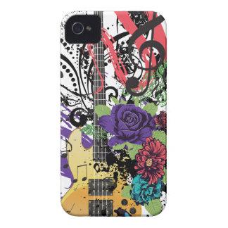 Grunge Guitar Illustration 3 iPhone 4 Case-Mate Cases