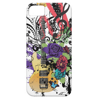 Grunge Guitar Illustration 3 iPhone 5 Covers