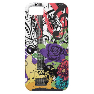 Grunge Guitar Illustration 3 Tough iPhone 5 Case