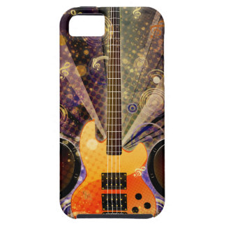 Grunge Guitar with Loudspeakers 2 iPhone 5 Case