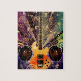 Grunge Guitar with Loudspeakers 2 Puzzles