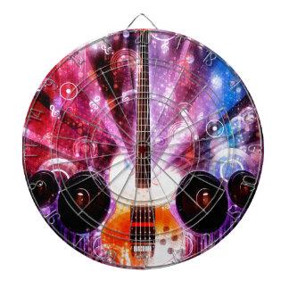 Grunge Guitar with Loudspeakers 3 Dart Boards