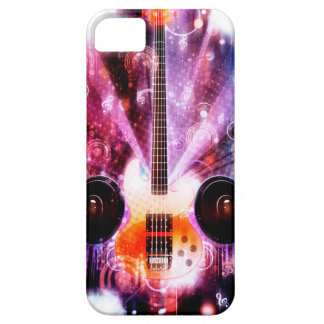 Grunge Guitar with Loudspeakers 3 iPhone 5 Case