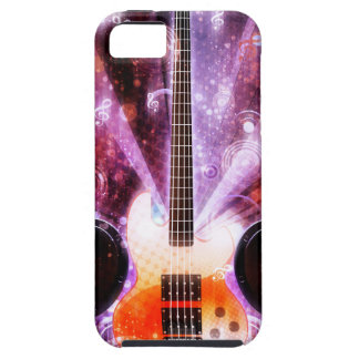 Grunge Guitar with Loudspeakers 3 iPhone 5 Cover