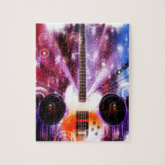 Grunge Guitar with Loudspeakers 3 Puzzles