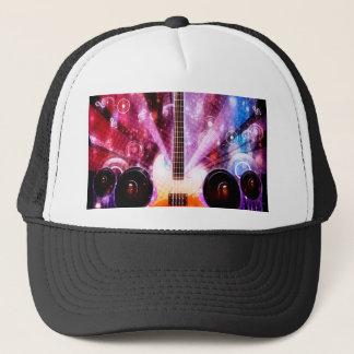 Grunge Guitar with Loudspeakers 3 Trucker Hat