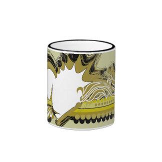grunge heart coffee mug
