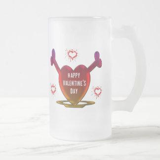 Grunge Hearts Mugs
