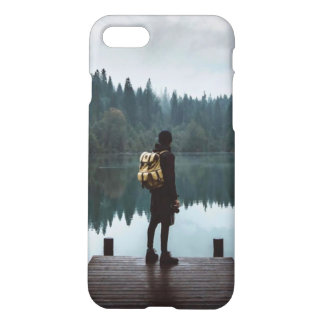grunge hipster aesthetic case, tumblr nature iPhone 8/7 case