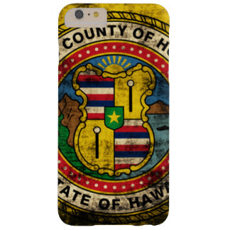 Grunge Honolulu Hawaii Flag Barely There iPhone 6 Plus Case