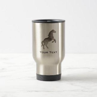 Grunge Horse Stainless Steel Travel Mug