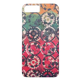 Grunge industrial pattern iPhone 8 plus/7 plus case