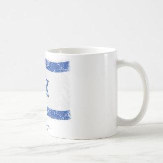 Grunge Israel Flag Coffee Mug