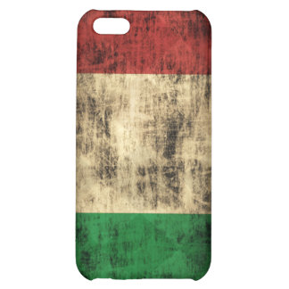 Grunge Italian Flag Case For iPhone 5C