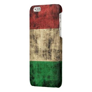 Grunge Italian Flag Glossy iPhone 6 Case