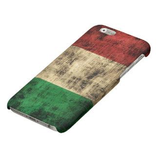 Grunge Italian Flag Matte iPhone 6 Case