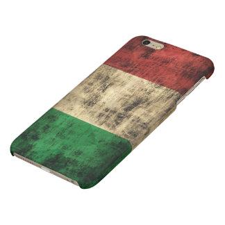 Grunge Italian Flag Matte iPhone 6 Plus Case