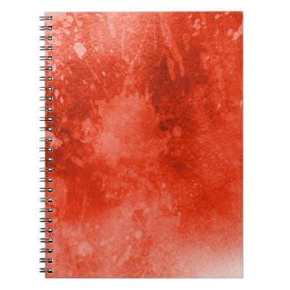 Grunge Journal Notebook Splatters