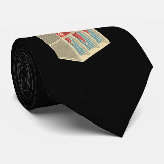 Grunge Jukebox Tie