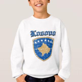 Grunge Kosovo coat of arms designs Sweatshirt