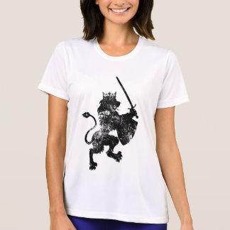 Grunge Lion King Ladie's Micro Fiber T-Shirt