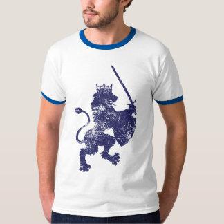 Grunge Lion King Men's Ringer T-Shirt