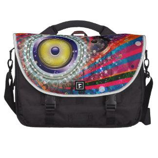 Grunge Loud Speakers Laptop Shoulder Bag