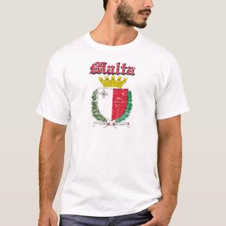Grunge Maltese coat of arms designs T-Shirt