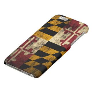 Grunge Maryland Flag
