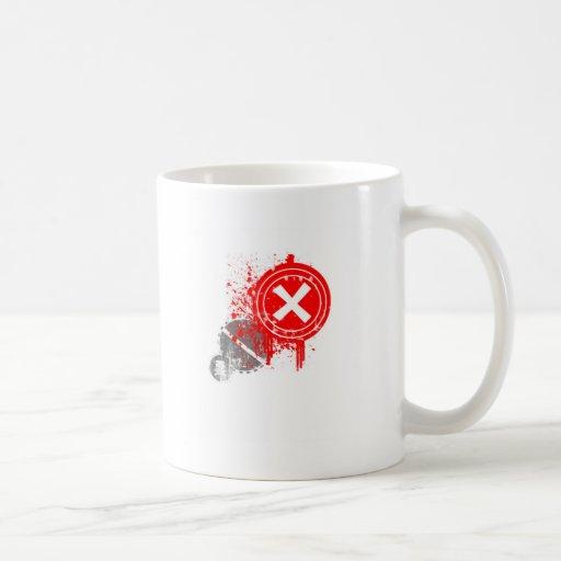 grunge mugs
