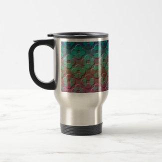Grunge Stainless Steel Travel Mug