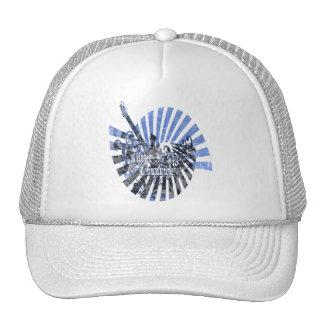 Grunge Music Mesh Hats