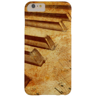 Grunge Music Sheet Piano Keys Barely There iPhone 6 Plus Case