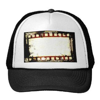 Grunge Negative Film Strip Cap