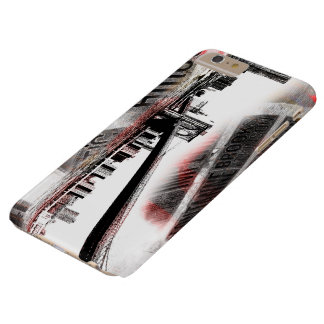 Grunge New York Barely There iPhone 6 Plus Case