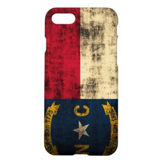 Grunge North Carolina Flag iPhone 7 Case