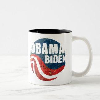 Grunge Obama Biden Mug