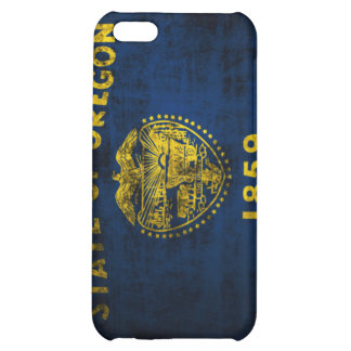 Grunge Oregon State Flag iPhone 5C Cover