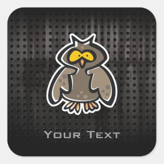 Grunge Owl Sticker